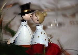 人形のカップル